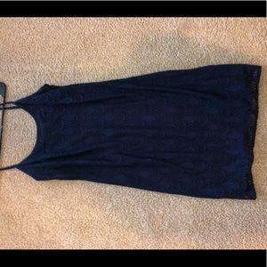 Navy Lilly Pulitzer Dress- small